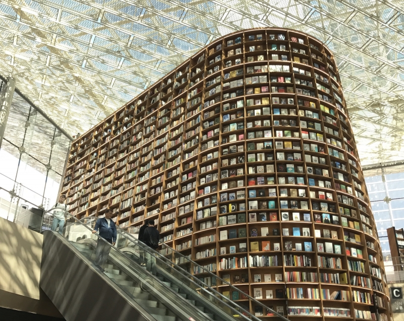 beautiful libraries: starfield library, seoul