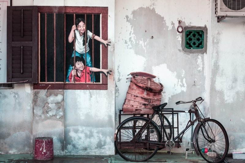 Walking along Penang's Harmony Street is one of the things to do in Penang
