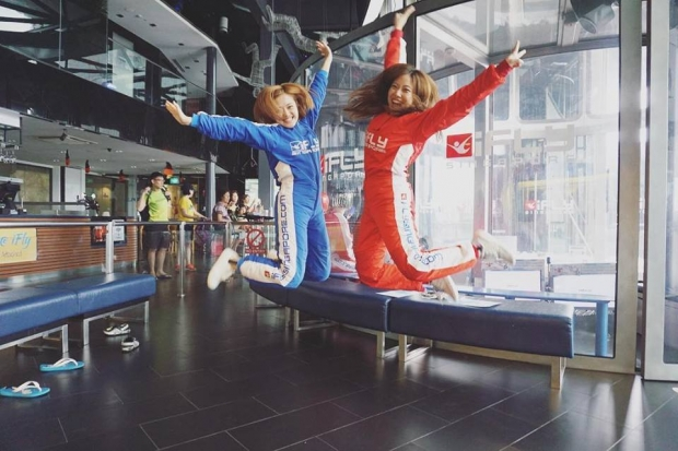 """WIN a Pair of """"The Challenge"""" Tickets worth SGD119 each for iFly Singapore"""