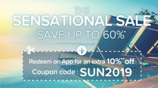 Save Up to 60% Off on Hotels.com Sensational Sale