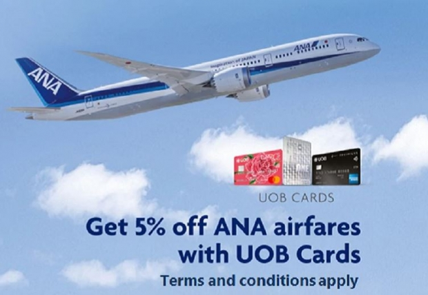 Get 5% Off All Nippon Airways Fares with UOB Cards