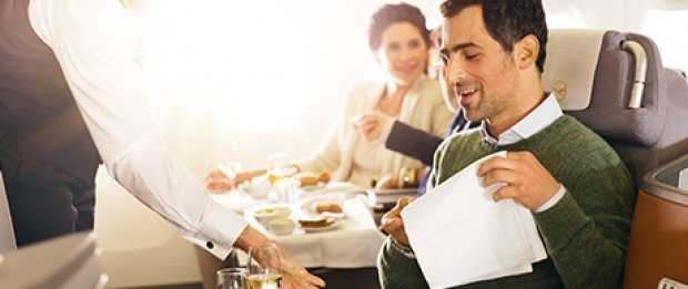 NATAS Business Class offers to Europe with Lufthansa