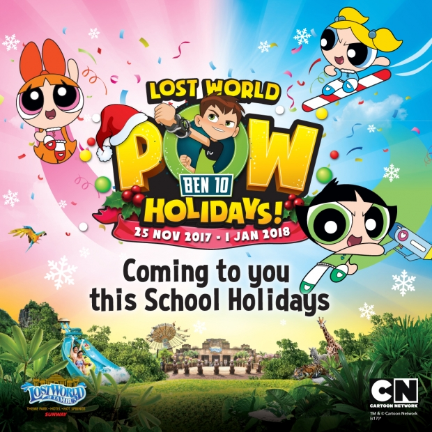 POW Holidays 2017 in Sunway Lost World of Tambun from RM81