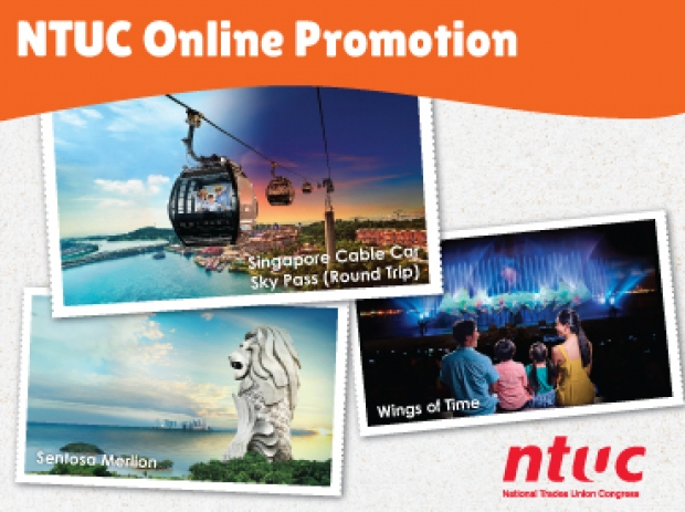 NTUC Membership Card Discount at One Faber Group Attractions
