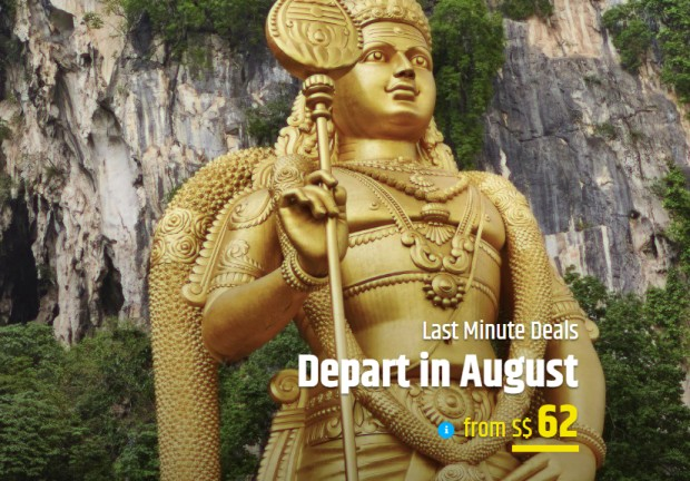 Last Minute Flight Deals with CheapTickets from SGD62 1