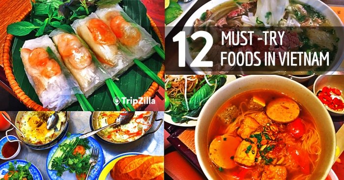My Food Trip in Vietnam: 12 Must-Try Local Dishes