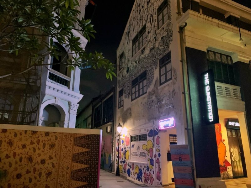 photoshoot locations in Singapore armenian street