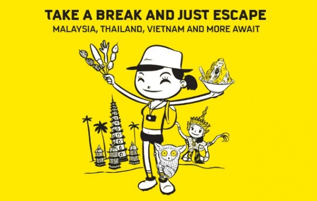 Take a Break and Just Escape with Scoot from SGD52