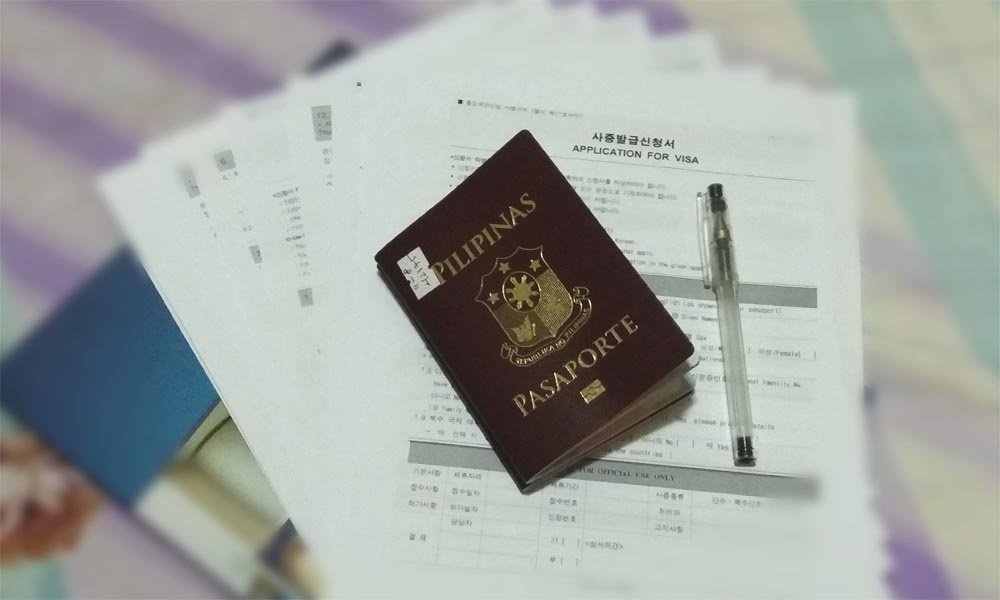 south korea tourist visa without itr