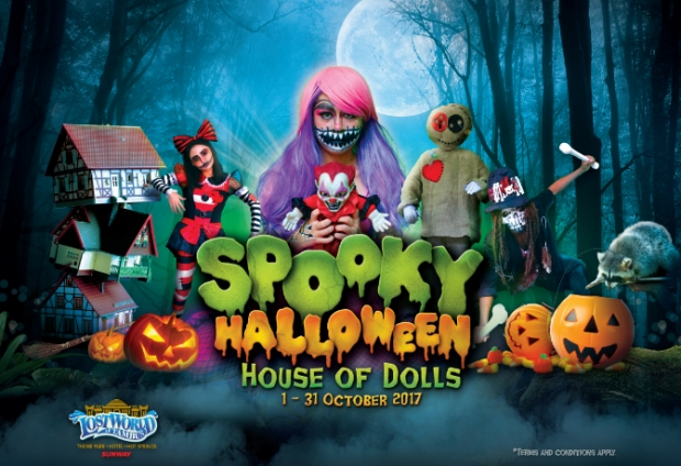 Spooky Halloween in Sunway Lost World of Tambun from RM81