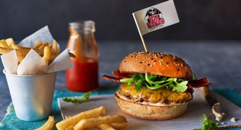 fat papas burger
