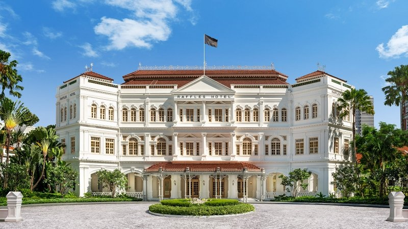 heritage buildings in singapore raffles hotel