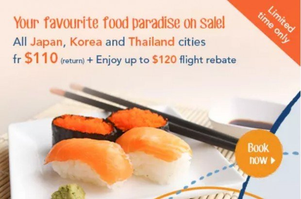 Fly to Food Paradise with Zuji from SGD110