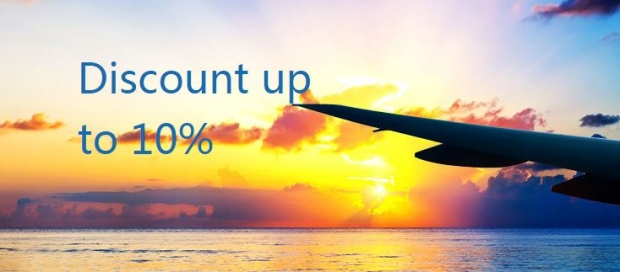 Enjoy 10% Discount of Flights with Air China and OCBC Card Code 'CAOCBC'