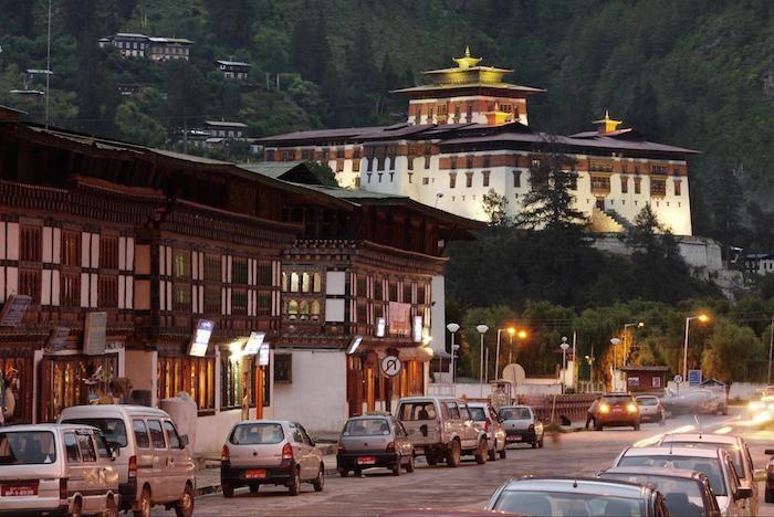 paro dzong bhutan