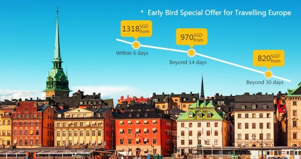 Early Bird Promotion to America and Europe with Air China 3