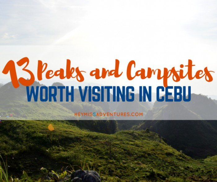 cebu mountain peaks camp sites