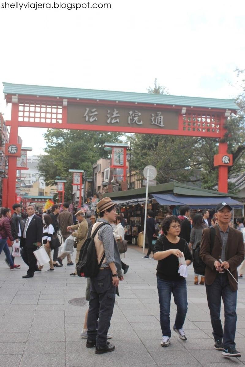 Mua Gì Khi Đến Tokyo Phố Nakamise