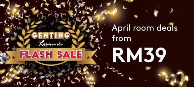 Genting Rewards April Flash Sale: Save up to 35% in Resorts World Genting