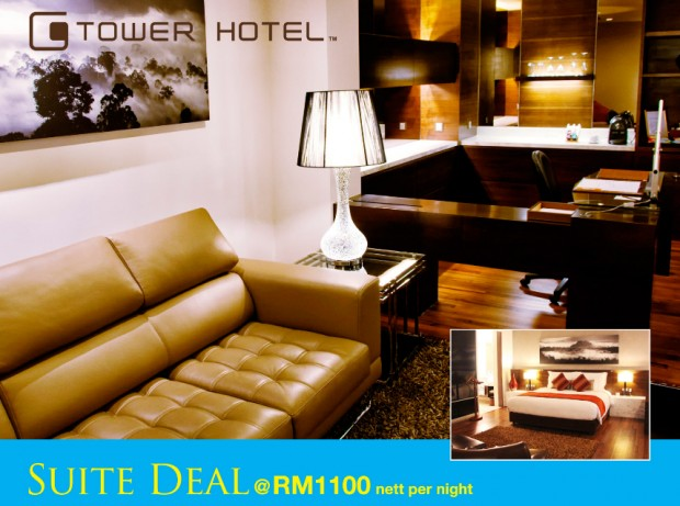 Suite Deal from RM1,100 at G Tower Hotel
