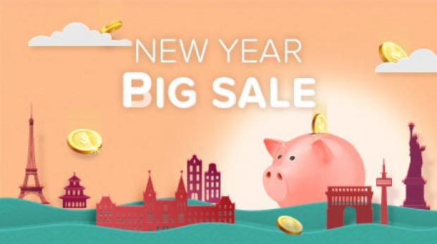 New Year Big Sale in Hotels.com