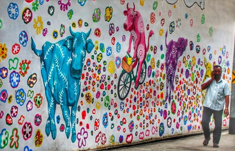 little india murals