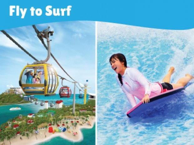 Fly to Surf Offer in One Faber Group with up to 25% Savings