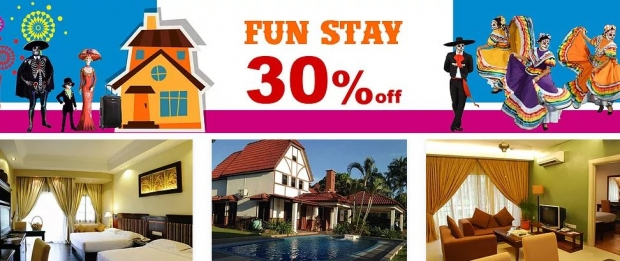 Up to 30% Off Fun Stay at A'Famosa Resort this October