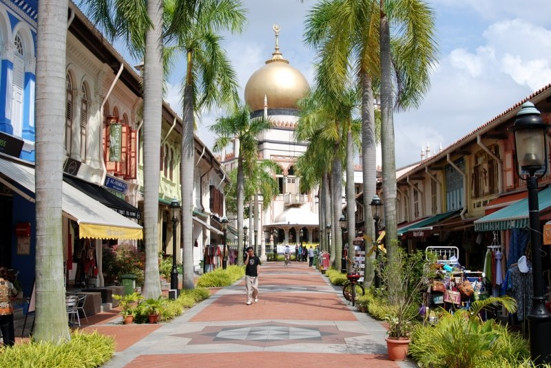 Sultan Mosque Kampung Glam Singapore