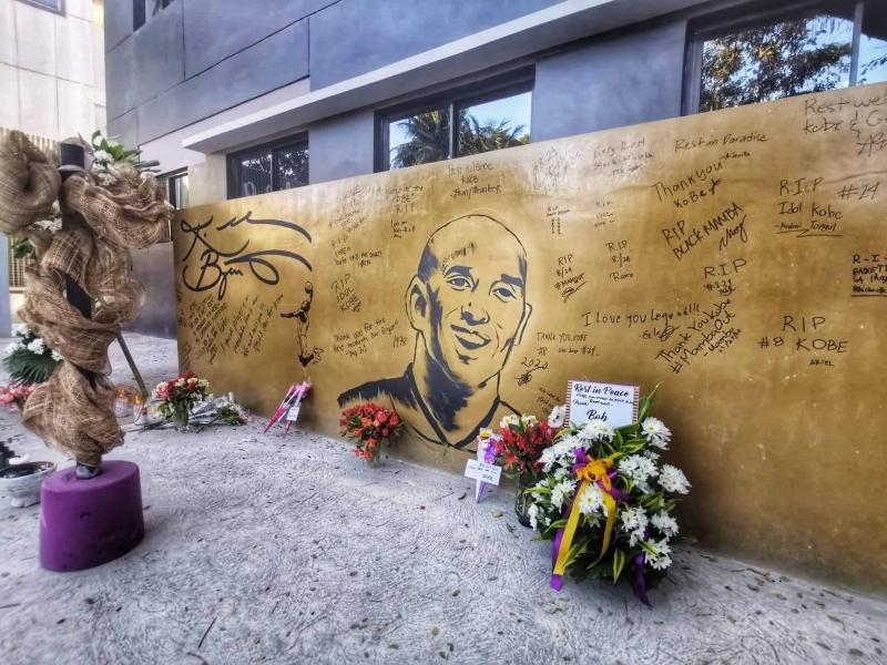 kobe bryant tribute in valenzuela city