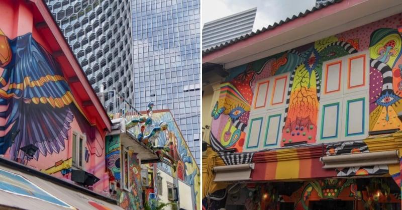 photoshoot locations in Singapore haji lane
