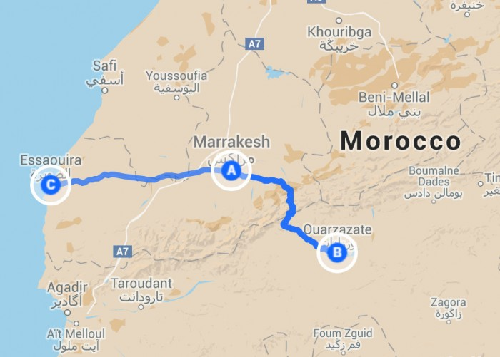 one week in morocco