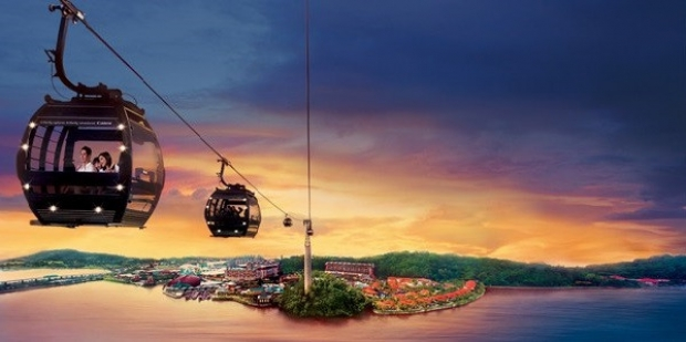 DBS Year-Long Promotion in Singapore Cable Car Ride from SGD45