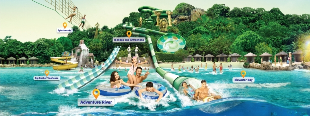 Resorts World™ Sentosa Adventure Cove Waterpark™ Special Admission Rates with OCBC Card