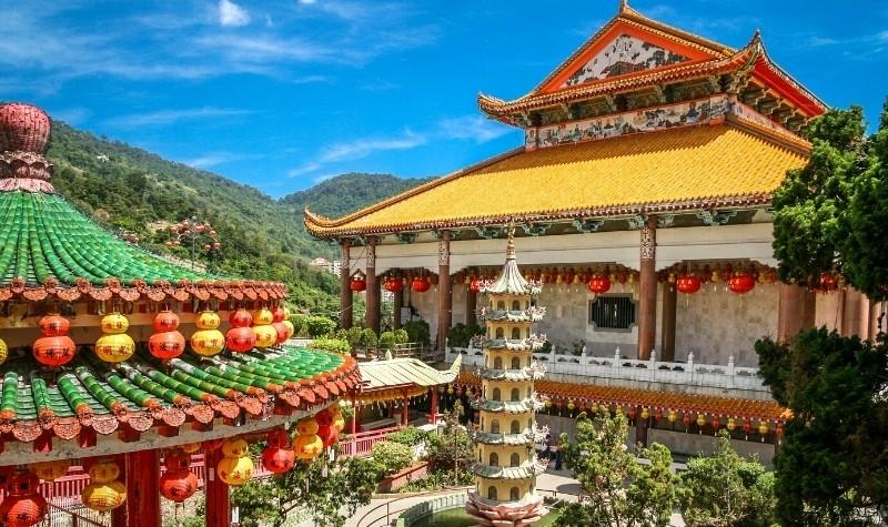 Temples in Southeast Asia: Kek Lok Si Temple