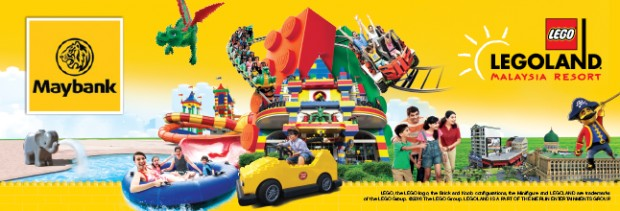 Enjoy 30% Off Admission Tickets to Legoland Malaysia with Maybank Cards