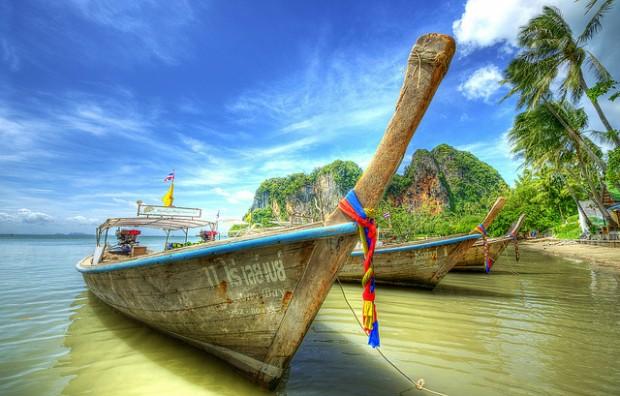 Chơi gì ở Thái Lan: Tắm nắng ở Krabi