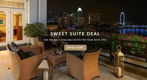 Sweet Suite Deal with 50% Savings at The Fullerton Hotel
