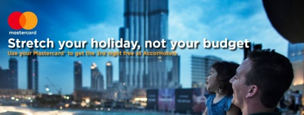 Stay 3 Pay 2 for your Accommodation in Accorhotels with MasterCard