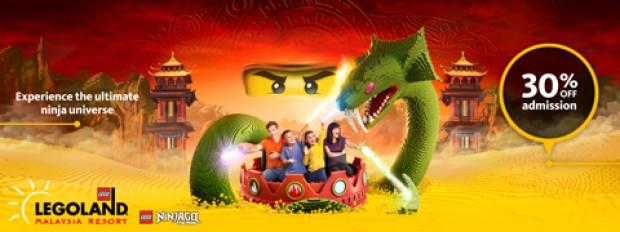 Enjoy 30% Off Legoland Malaysia Resort with Maybank