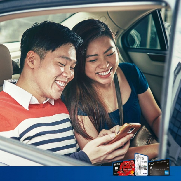 Enjoy Up to 60% Off your Next Grab Ride with United Overseas Bank