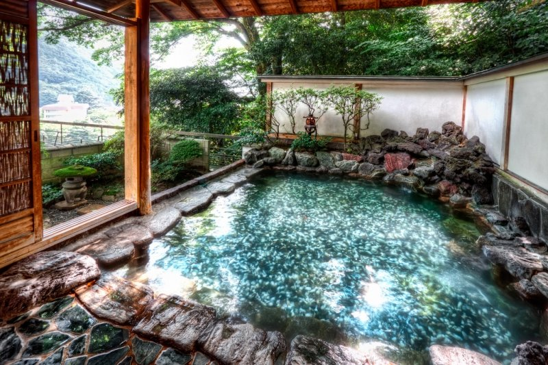 best hot springs in japan