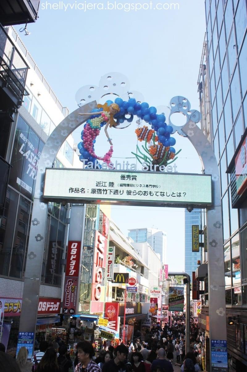 Mua Gì ở Tokyo Phố Takeshita