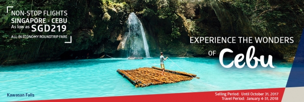Fly to Cebu and Do More with Philippine Airlines from SGD219