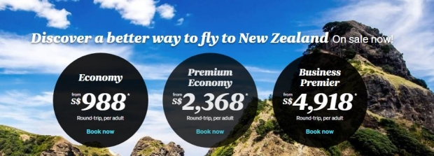 Discover a Better Way to Fly - Fly now with Air New Zealand from SGD698