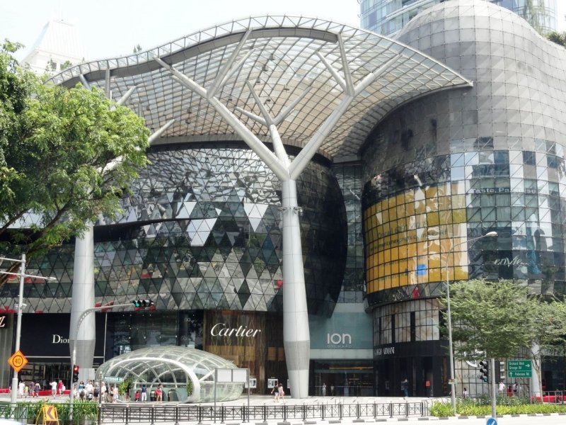 Orchard Road Ion Singapore