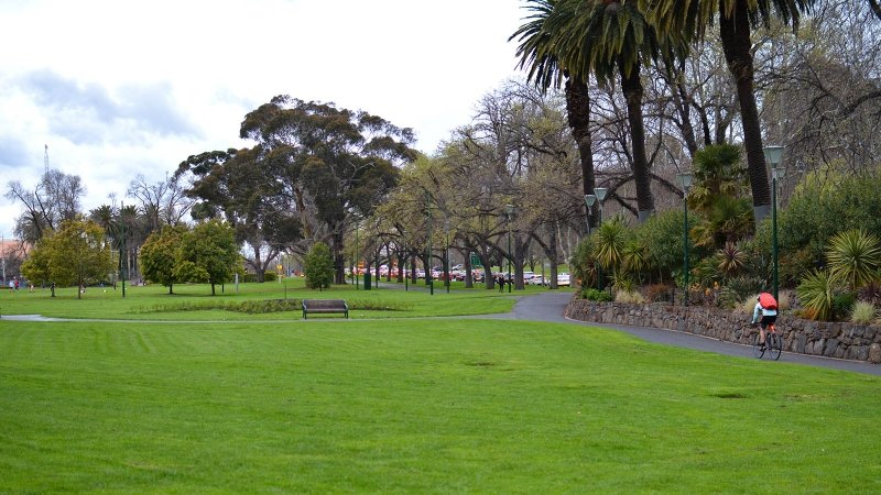 melbourne itinerary: queen victoria gardens