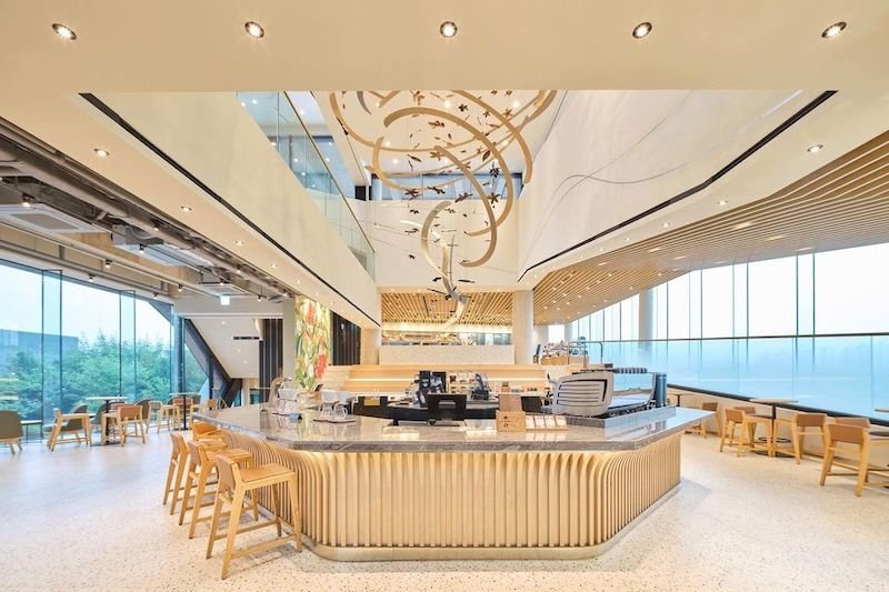 Starbucks Yangpyeong interior