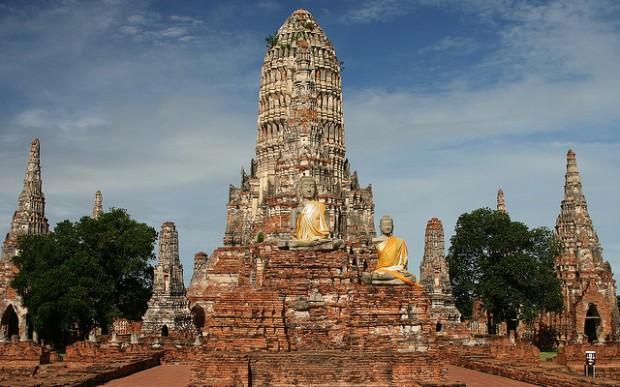 Chơi gì ở Thái Lan: Đi thăm các di tích ởAyutthaya