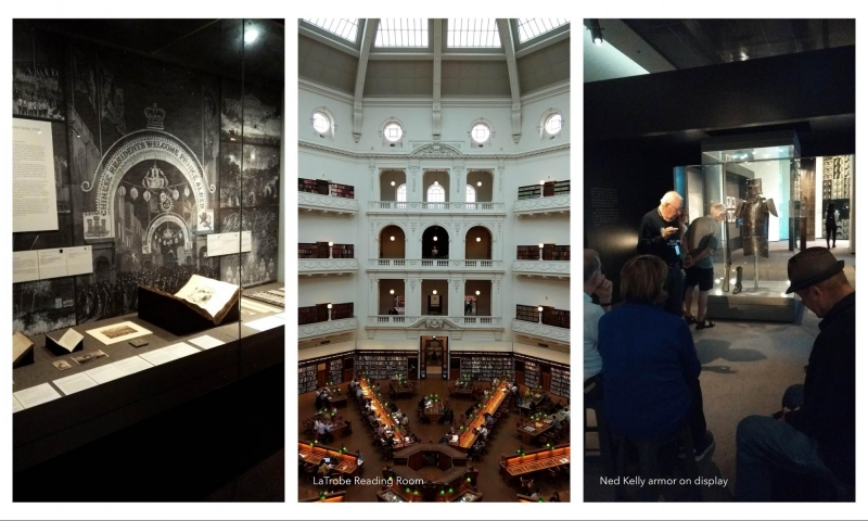 melbourne itinerary: state library of victoria